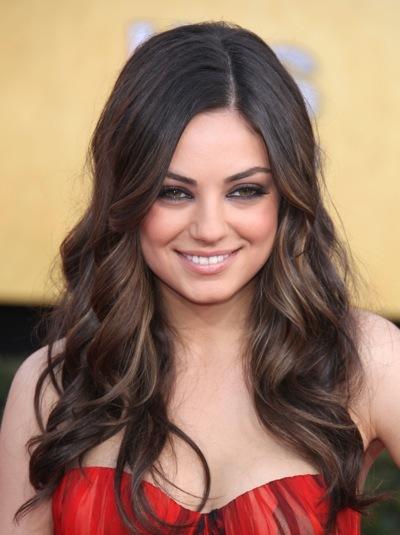 Mila Kunis hairstlyle