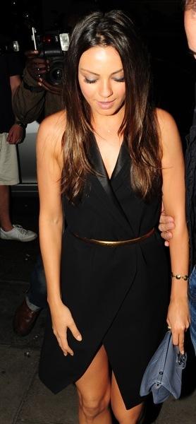Mila Kunis in a LBD