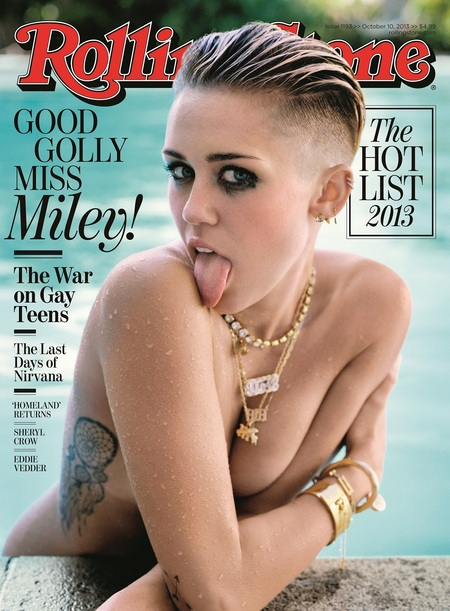 Miley Cyrus on Rolling Stone
