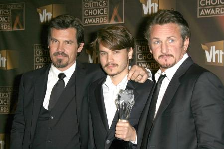 Josh Brolin, Emile Hirsch and Sean Penn