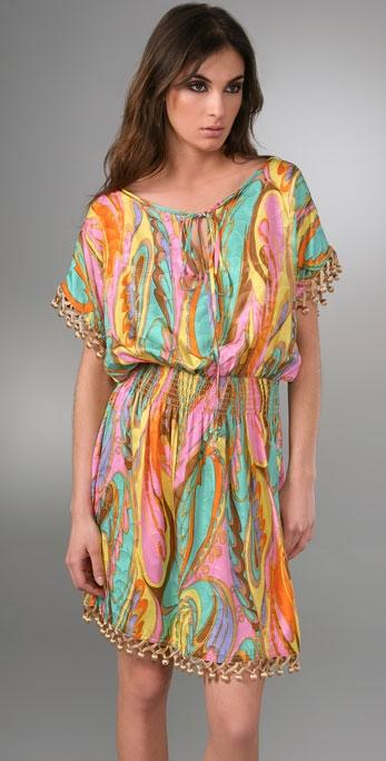 Milly Wild Paisley Dress