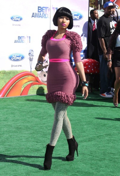 Nicki Minaj in ruffles