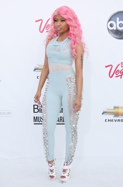 Nicki Minaj in jumpsuit