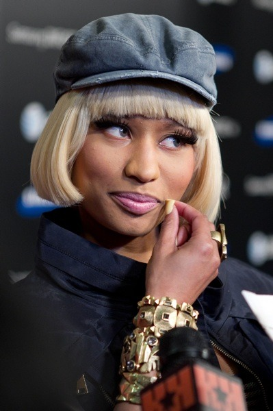 Nicki Minaj with a bob