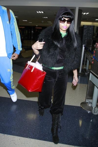 Nicki Minaj's travel style