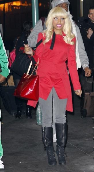 Nicki Minaj in jacket