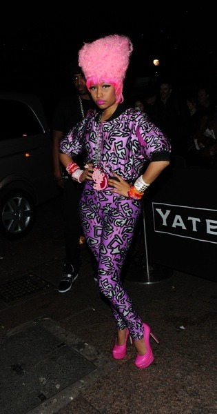 Nicki Minaj loves pink