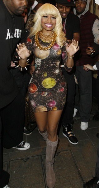 Nicki Minaj and the universe
