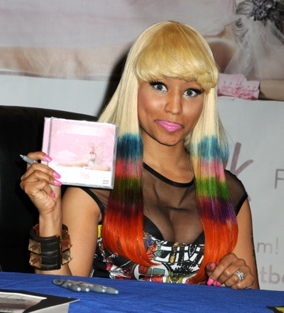 Nicki Minaj's pink lips