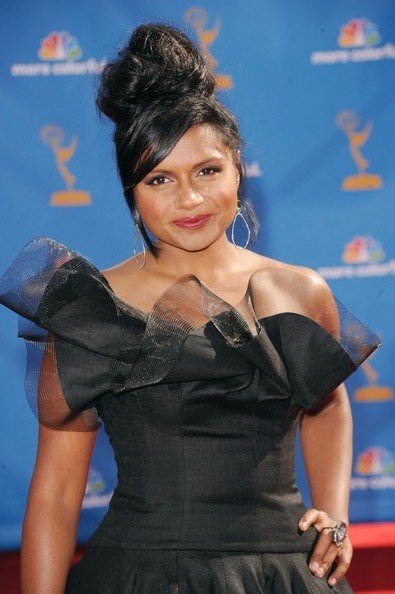 Mindy Kaling's Big Bun