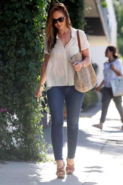 Minka Kelly out and about in Hollywood