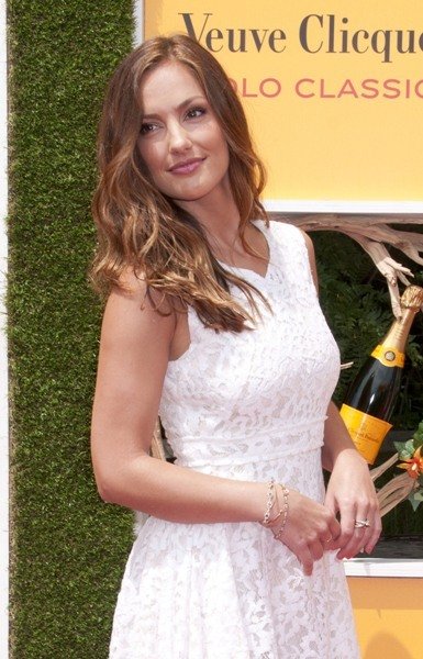 Minka Kelly at The Fifth Annual Veuve Clicquot Polo Classic Liberty State Park