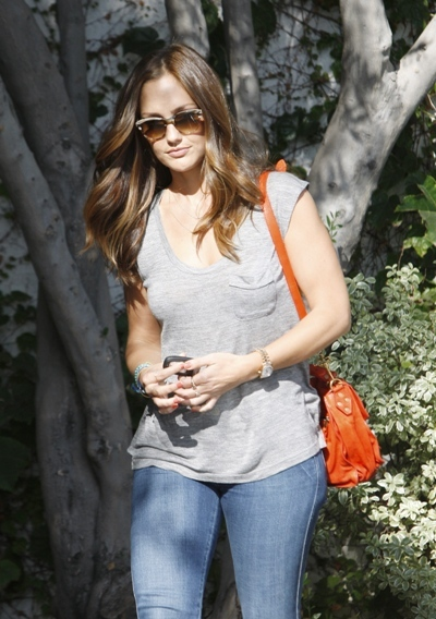 Minka Kelly seen leaving Andy Lecompte hair salon