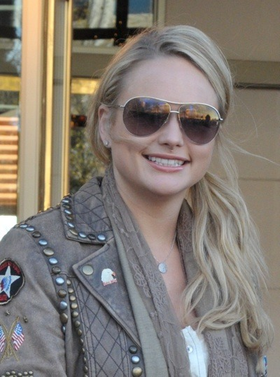 Miranda Lambert in aviators