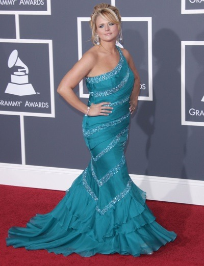 Miranda Lambert in beautiful gown
