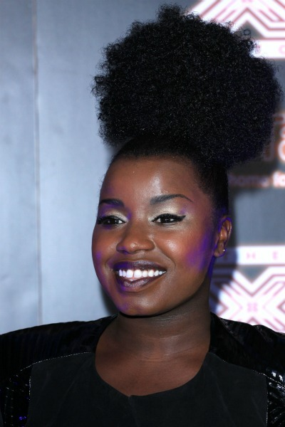 Misha B's updo poof for round faces