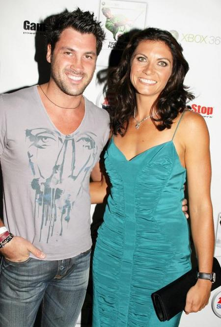 Misty May and Maksim Chmerkovskiy