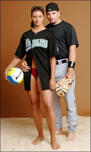 Misty May and Matt Treanor