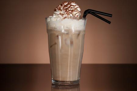 Blended vanilla mocha