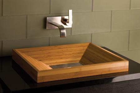 Eco-chic bathroom