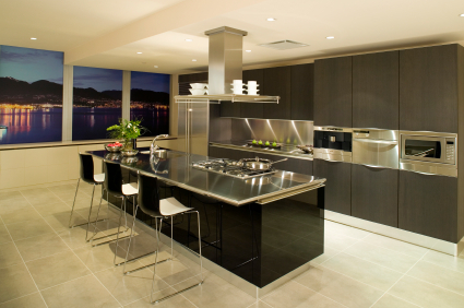 Modern Apartment Kitchen