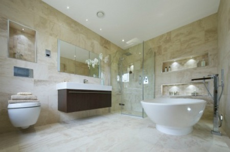 Bathroom Vanity Stool on Luxury Bathroom Redesign Your Home With Master Bathroom Floor Plans