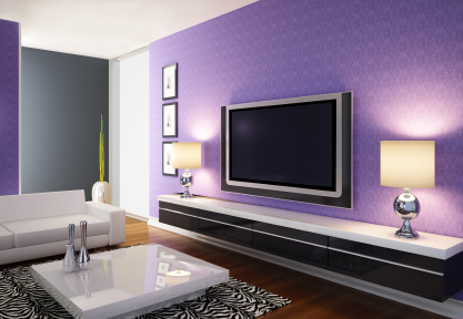 Living Room on Modern Purple Living Room Jpg