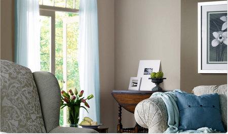 Monochromatic Calm - Living Room