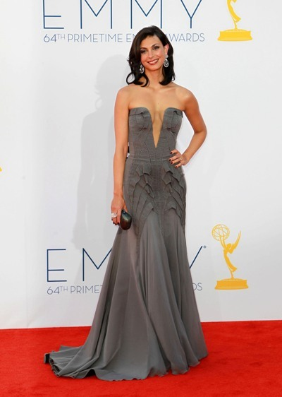 Morena Baccarin at the Emmys.