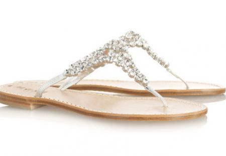 Musa Swarovski Crystal Sandals 