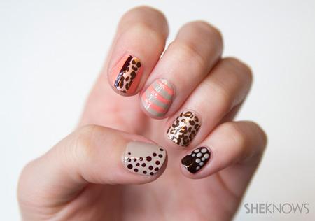 Mixed prints with Cheetah Flair