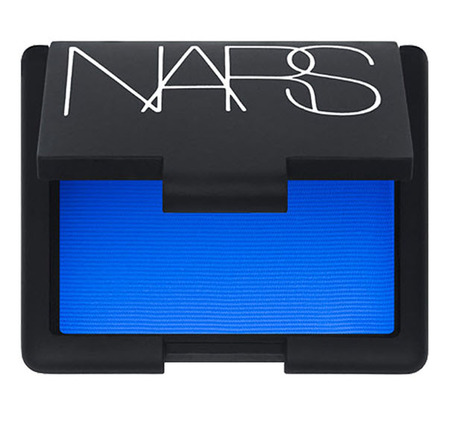 Play up your eyes with this bright blue eyeshadow by Nars.