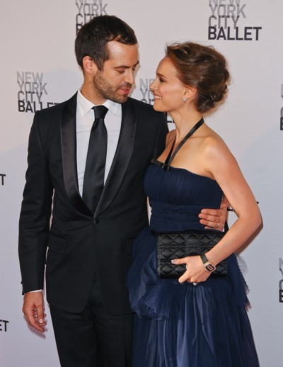 Natalie Portman and Ben Millepied
