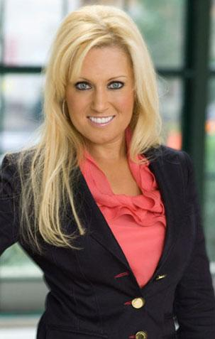 Natalie Gulbis in Celebrity Apprentice