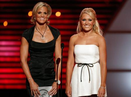 Natalie Gulbis at the ESPY Awards