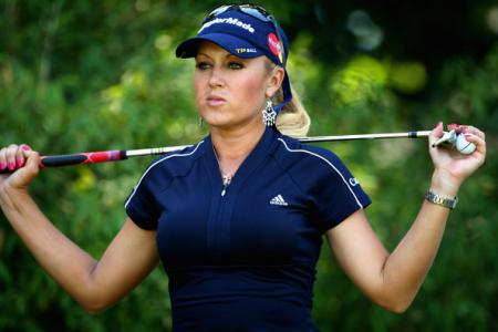 Natalie Gulbis at the Evian Masters