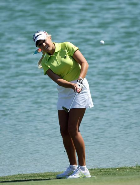 Natalie Gulbis at the Kraft Nabisco Championship