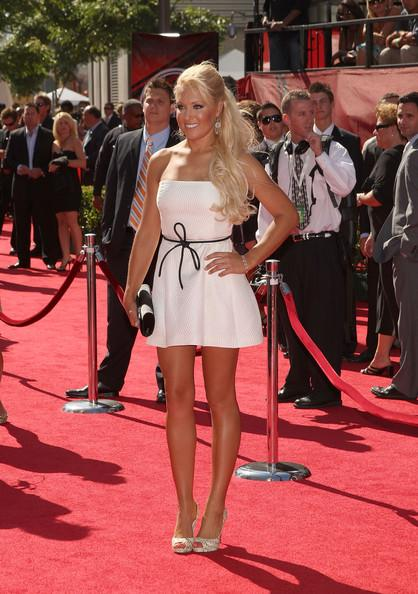 Natalie Gulbis on the Red Carpet