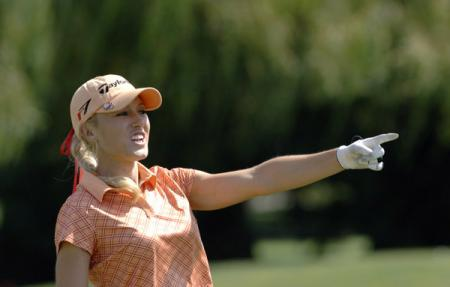 Natalie Gulbis at the Safeway Classic
