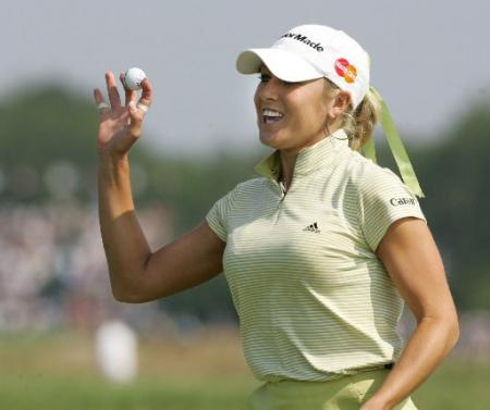 Natalie Gulbis at the U.S. Open
