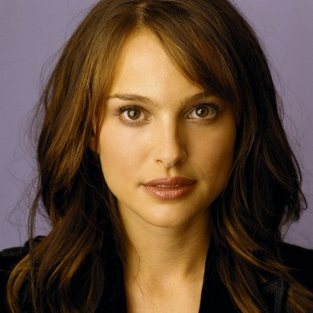 Natalie Portman long hair