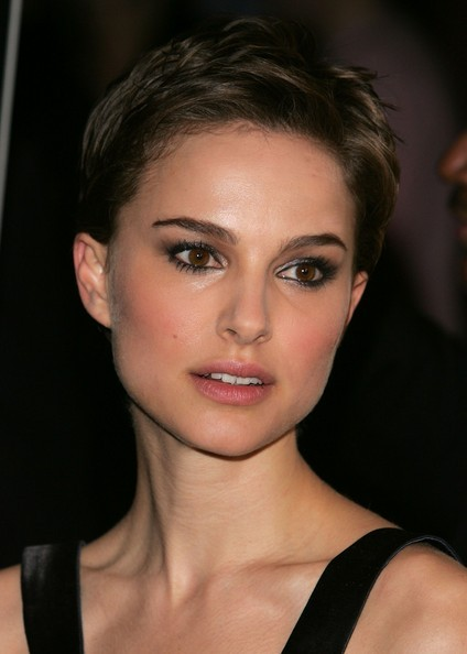 Natalie Portman's short and sassy hairstyle