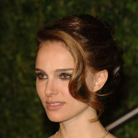 Natalie Portman up-do