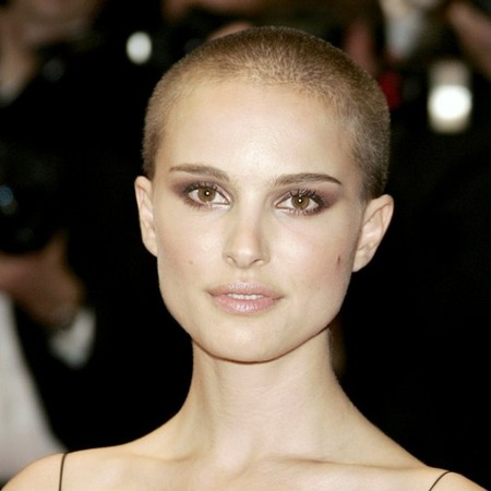 Natalie Portmans Shaved Head 7