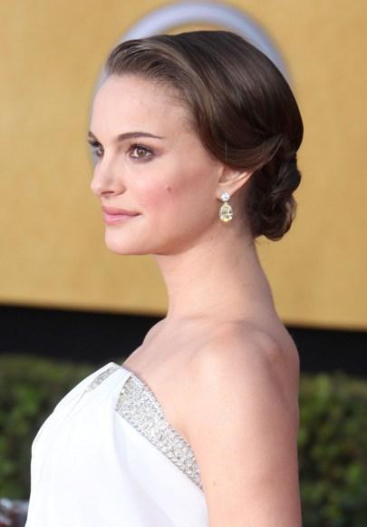 Natalie Portman's Soft Updo