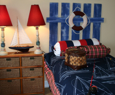 Nautical Bedroom Theme - Boys' bedroom ideas