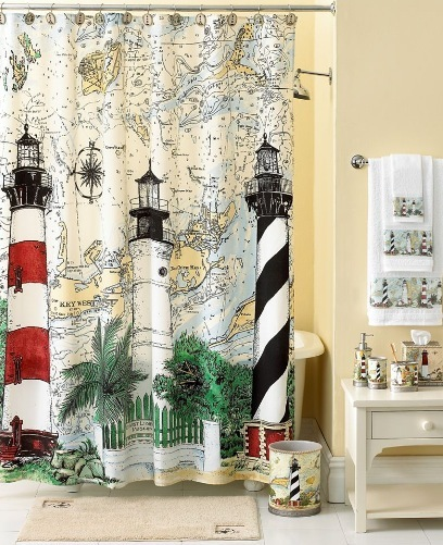 Nautical Theme - Bathroom decorating ideas