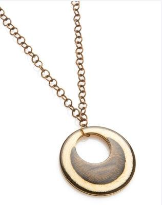 Nest wood pendant