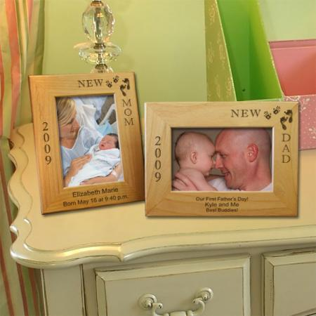 New Dad Photo Frame