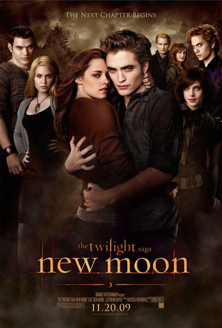 The most recognizable promo poster for New Moon